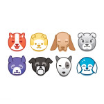 8 Free Dogs Icons (Sketch)