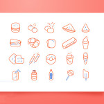 20 Free Sketchapp Food Icons