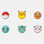 Pokemon Icons Freebie