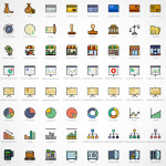 Retro Business Icons Pack